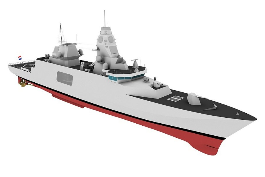 End of research on new Belgian and Dutch frigates