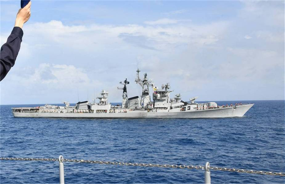 India and Japan navies conduct sea training exercise at the Indian Ocean 925 002