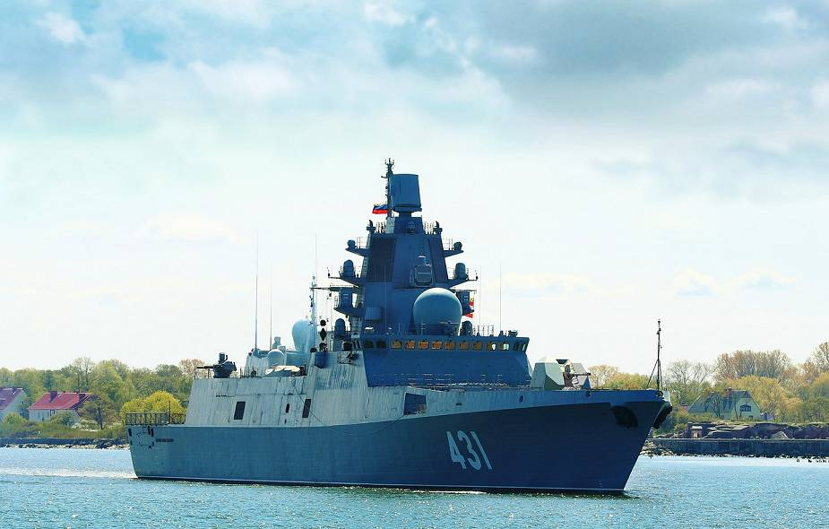 Russian Navy Admiral Kasatonov frigate Project 22350 test fire anti torpedo during acceptance trials 925 001