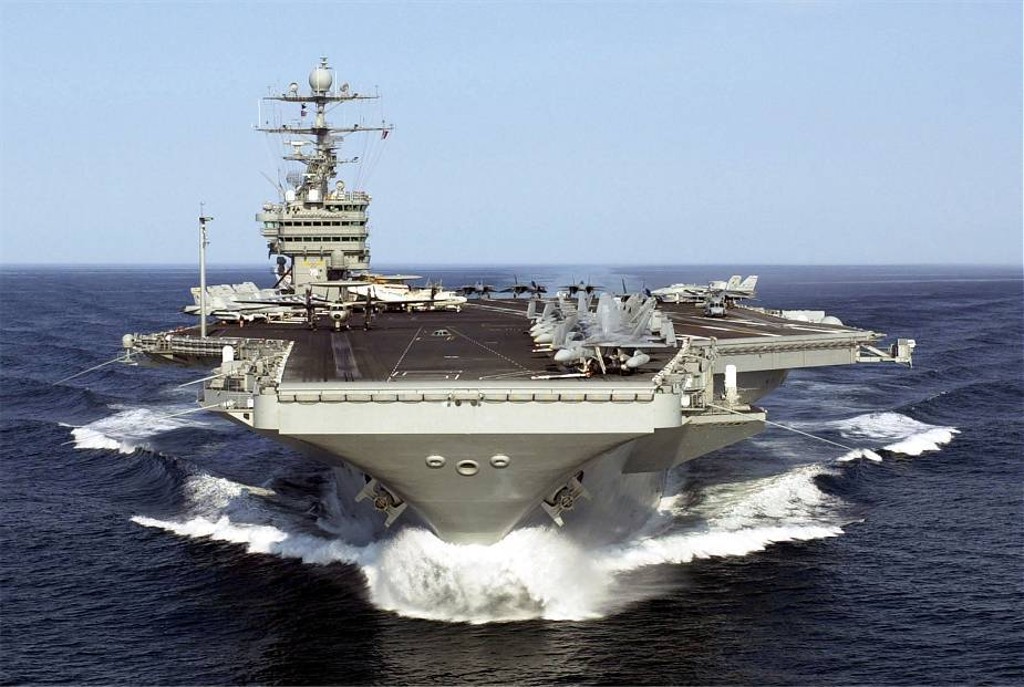 US Navy conducts large naval exercise with Harry S Truman Carrier Strike Group 925 001