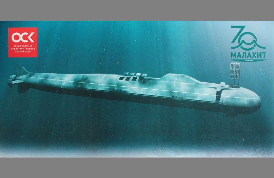 Russia is currently designing Husky class fifth generation of submarines 925 001