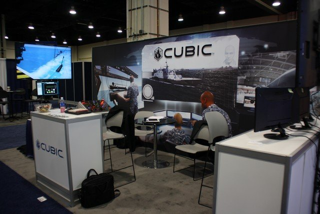 Cubic Global Defense, a business of Cubic Corporation is demonstrating a range of innovative technologies and solutions for increased military effectiveness and readiness at the Navy League's 50th annual Sea-Air-Space Exposition currently held at the Gaylord National Resort and Convention Center in National Harbor, Maryland.