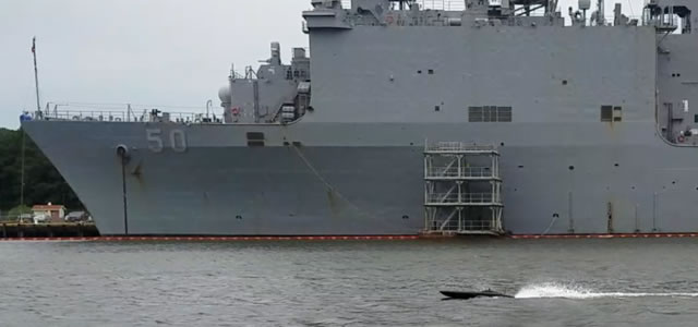 MANTAS on patrol in a naval base. MARTAC picture.