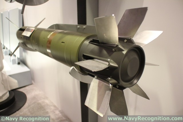 Raytheon is currently developing a Millimeter Waver Radar seeker for the Excalibur N5 projectile, Navy Recognition has learned during the Surface Navy Association's (SNA) National Symposium held last week near Washington DC.