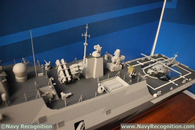 At the Surface Navy Association's (SNA) National Symposium currently held near Washington DC, Lockheed Martin is showcasing for the first time a scale model representative of the MMSC (Multi-Mission Surface Combatant) being offered to the Royal Saudi Navy as part of a modernization program of the Saudi navy's eastern fleet called SNEP II (Saudi Naval Expansion Program)