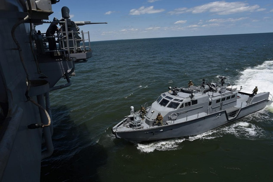 Mark VI patrol Boat US Navy