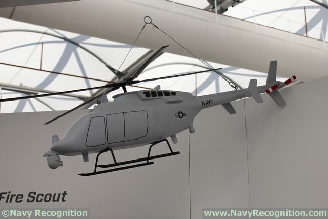 The MQ-8C Fire Scout unmanned helicopter is also showcased at the show. The MQ-8C Fire Scout uses a larger airframe than the previous MQ-8B variant to deliver more range, payload capacity and endurance to naval forces. Fire Scout can land and take off from any aviation-capable naval ship. Fire Scout has been actively deployed by the United States Navy to enhance its maritime surveillance and patrol capabilities and could provide a substantial increase in capability for the Royal Australian Navy and other regional partners.