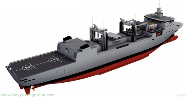 DCNS presented during Euronaval 2010 its new-generation underway replenishment tanker and logistic supply vessel named BRAVE (Bâtiment RAVitailleur d'Escadre). The design currently in development should answer French Navy needs to replace the Durance class. BRAVE will also be available to international customers.