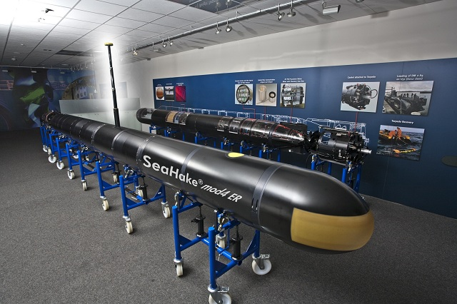 Bremen/Paris – ATLAS ELEKTRONIK, the world's leading systems supplier for maritime high technology, will be strongly presented at the EURONAVAL 2012 in Paris, France. The com-pany is showcasing its wide spectrum of products, innovations and capabilities. On exhibition are a SeaSpider® and a SeaHake® torpedo as a model.