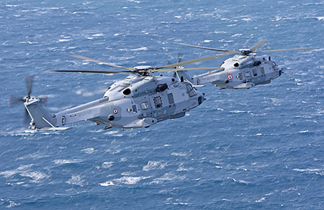 Eurocopter's extensive range of helicopters for naval and maritime missions will take pride of place at Euronaval 2012, the 23rd Naval, Defense and Maritime Exhibition and Conference, with the company displaying models of the NH90 NFH, the AS365 N3+ and the AS565 MB/Panther (Hall 2A – Stand G70).
