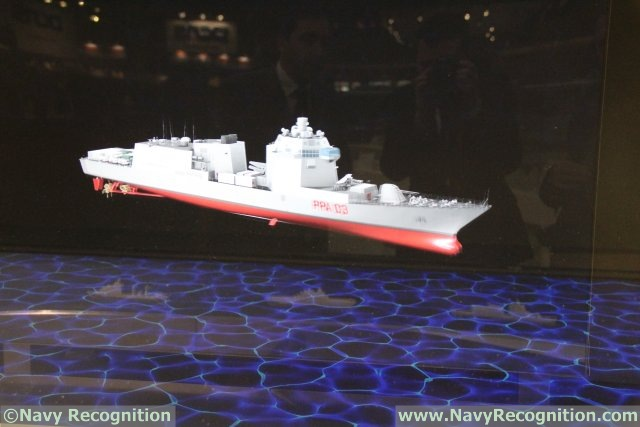 Fincantieri reveals its new PPA patrol ship at EURONAVAL 2014