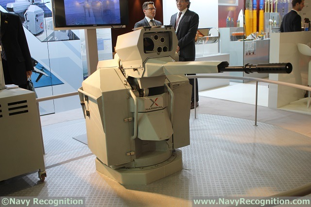 Navy Recognition just learned from Nexter at Euronaval 2014 that the French company has exported a number of NARWHAL 20A remote weapon stations (RWS with 20x102 ammunitions) to the navy of Lebanon. A company representative also declared that the NARWHAL 20B (with 20x139 ammunitions) will be fitted on board French Navy's Mistral class LHDs.