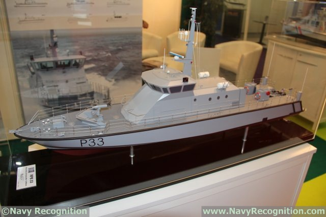 Raidco Marine presents its OPV and patrol boat at EURONAVAL 2014