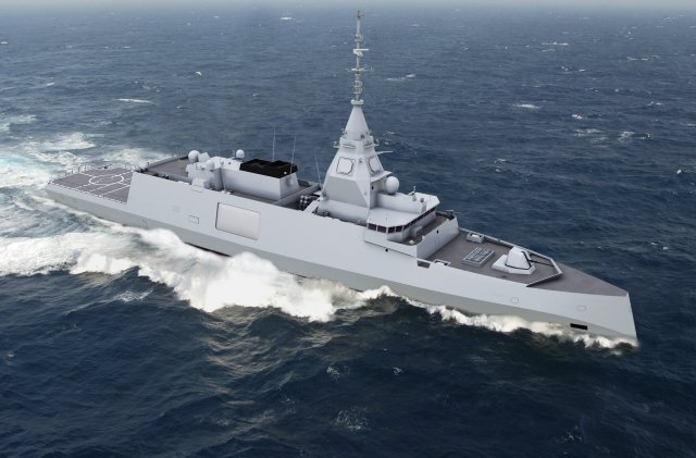 Euronaval 2016 DCNS officially introduces BELH RRA front line digital frigate 640 003