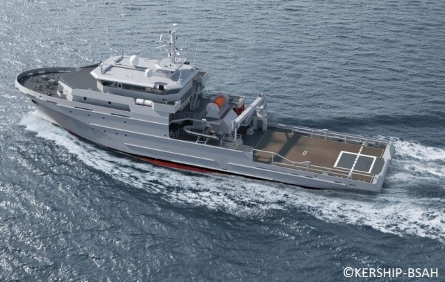 French Navy orders two more Offshore Support and Assistance Vessels from Kership 640 001