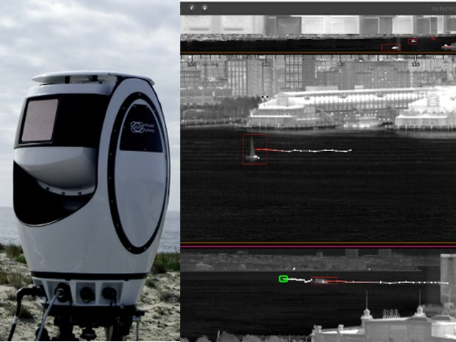 HGH Spynel S 6000 IR surveillance system now fitted on French Navy L Adroit OPV 640 001