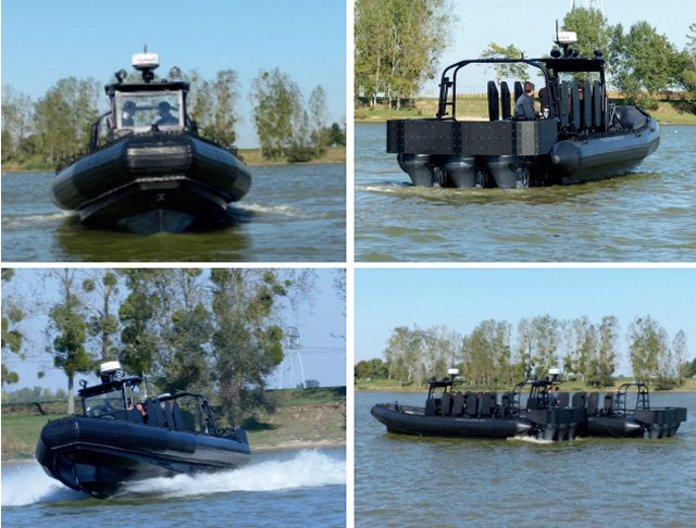 Sillinger to provide Brazilian Police special forces with RAFALE tactical boats 640 001