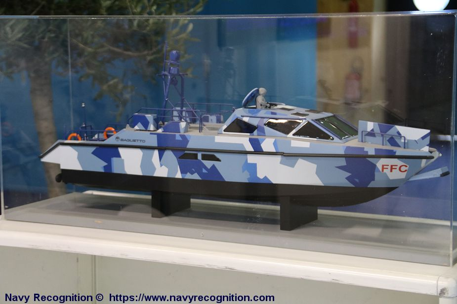 Baglietto Navy will deliver first MNI 15 fast craft to an European Navy Euronaval 2018 925 001