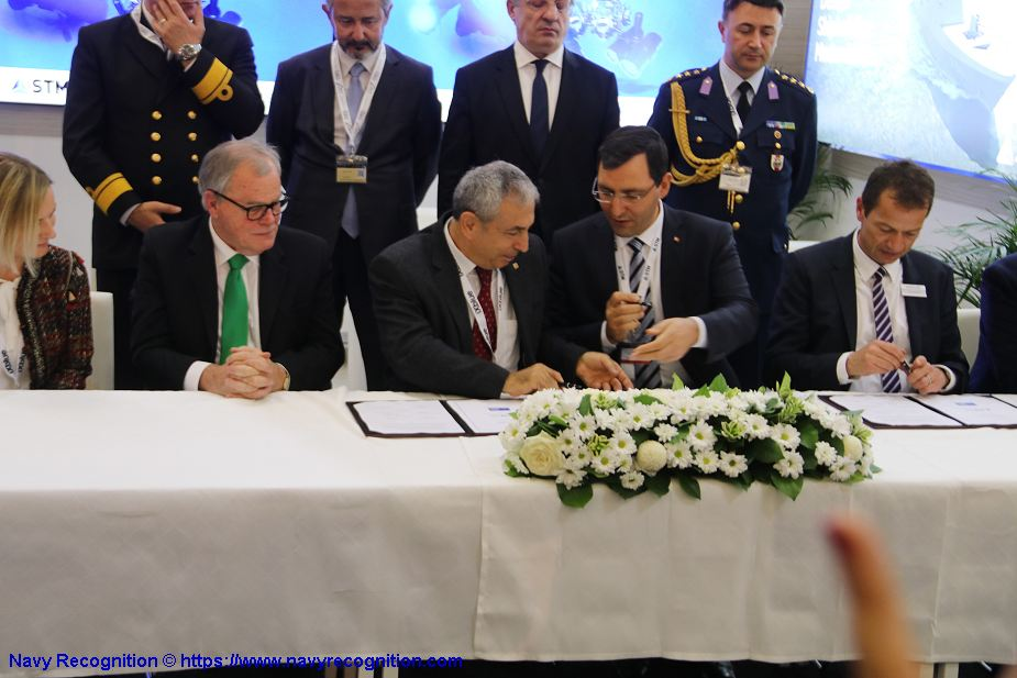 Turkish Company STM signed an MoU with HENSOLDT to develop Optical Communication System Euronaval 2018 925 001