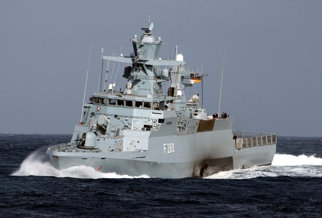 Contract for Five More German Navy K130 Braunschweig-class Corvettes Awarded to Shipyards