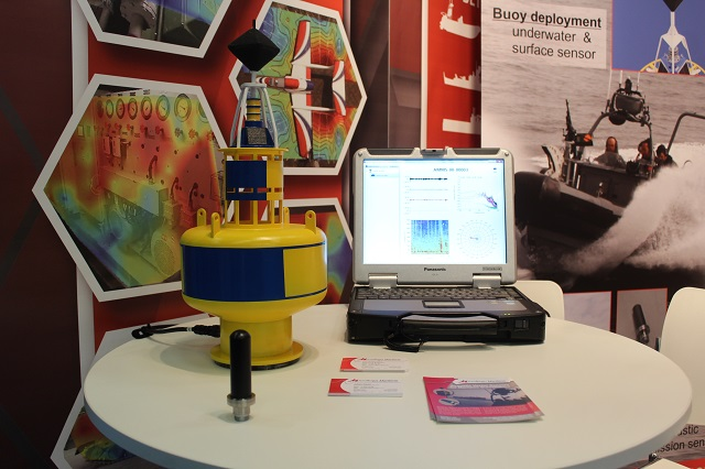 At the UDT 2015 Undersea Defence Technology exhibition and conference, Dutch company Microflown Maritime showcased its situational awarness solutions including its new Hydroflown.