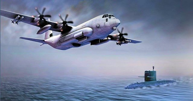 Artist Impression: SC-130J Sea Herc MPRA on patrol. Image: Lockheed Martin