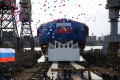 Russia Launched the Second Project 22220 Nuclear Icebreaker Sibir