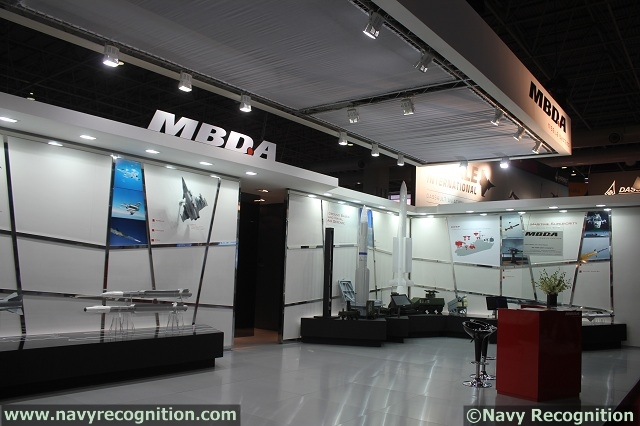MBDA booth during LIMA 2013ù