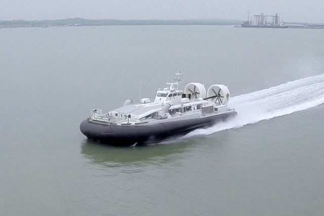 During the Langkawi International Maritime & Aerospace exhibition, LIMA 2015, currently held in Malaysia, Griffon Hoverwork told Navy Recognition about the delivery 30.8 meters BHT 150 Hovercraft to the South Korea Coast Guard. This is the largest hovercraft to be manufactured in the UK since the 1970s.
