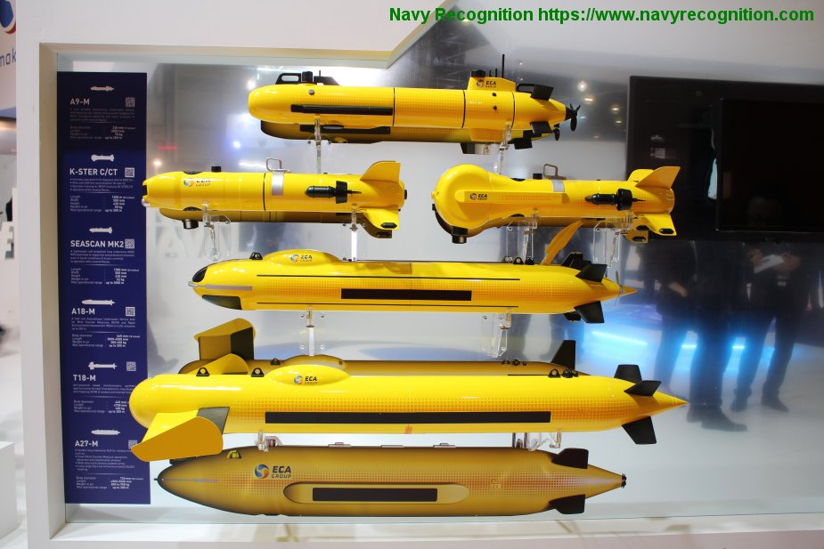 LIMA 2019 ECA Group to display its naval robotics solutions