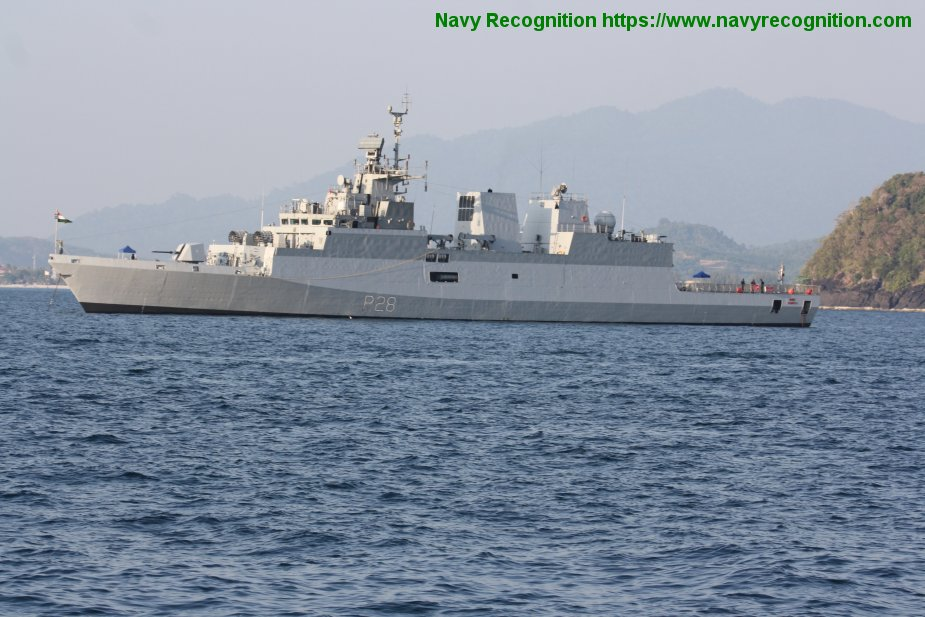 LIMA 2019 Indian ASW corvette INS Kadmatt has arrived