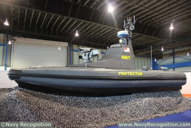 RSN's Protector USV at IMDEX Asia 2017