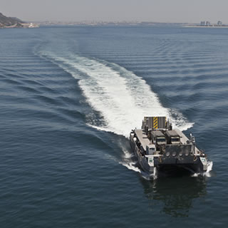 L-CAT Landing Catamaran / Landing Craft / EDA-R