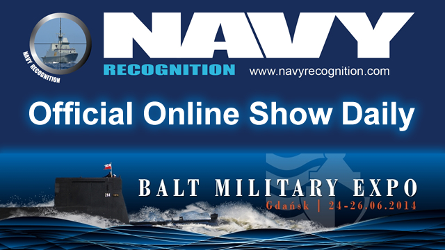 Navy Recognition is Balt Military Expo 2014 Official Show Daily