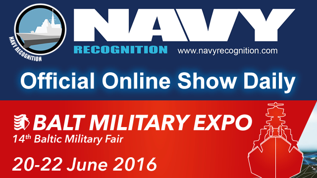 Navy Recognition is Balt Military Expo 2016 Official Show Daily