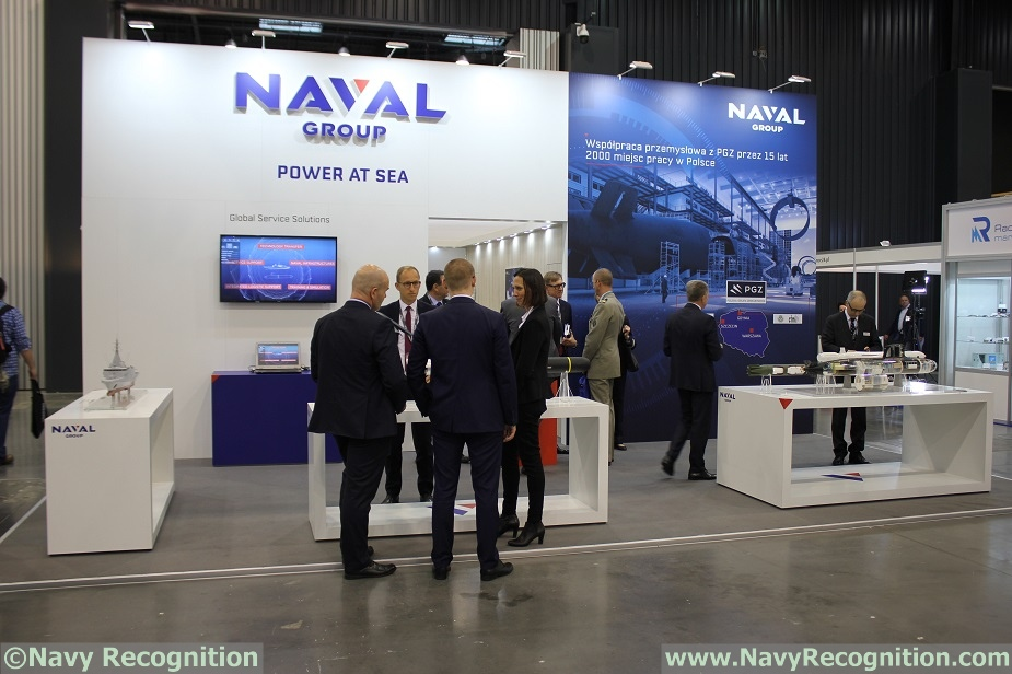 Balt Military Expo 2018 Naval Group showcasing its latest innovations 1