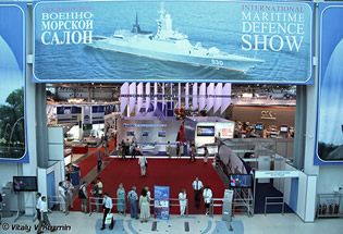 IMDS 2013 International Maritime Defence Show 3 - 7 July 2013, St Petersburg, Russia
