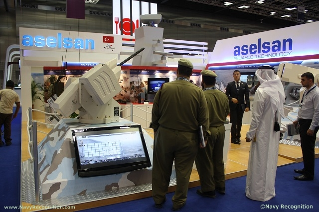 Turkish company ASELSAN showcased its STAMP turret at DIMDEX 2012, the DOHA INTERNATIONAL MARITIME DEFENCE EXHIBITION in the Qatar National Convention Centre.