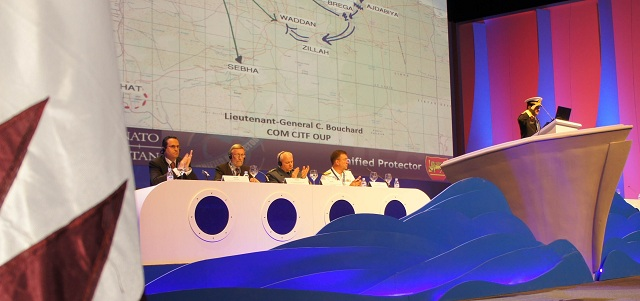 Distinguished Naval Commanders, experts and decision-makers convened today at the Middle East Naval Commanders Conference (MENC) on the second day of the Doha International Maritime Defence Exhibition & Conference (DIMDEX 2012) to discuss maritime security in the region.