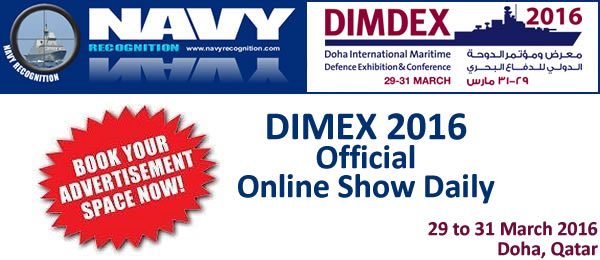 DIMDEX 2016 Doha International Maritime Defence Exhibition & Conference