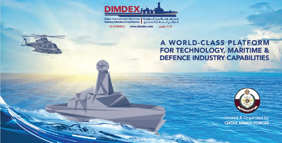 DIMDEX 2018 Doha International Maritime Defence Exhibition & Conference