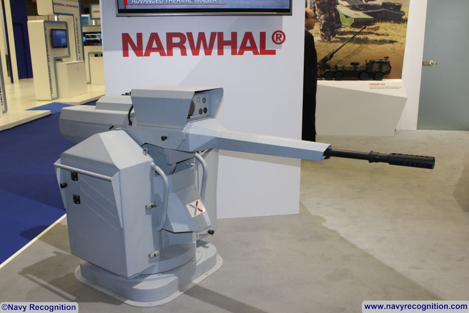 nexter narwhal turret dimdex 925 001