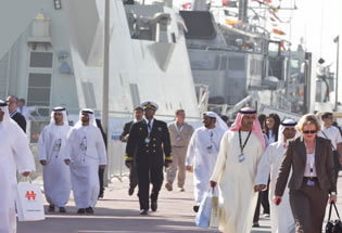NAVDEX is the naval and maritime security section of the tri-service exhibition IDEX. It is the leading event of its kind in the Middle East and North Africa region.