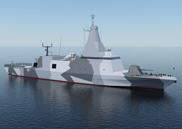 French shipyard CMN, part of Privinvest holding company, will unveil a new version of its famous Baynunah class corvette during IDEX/NAVDEX 2015 defense exhibition which starts on Sunday in Abu Dhabi. Based on the sea proven Combattante BR 71 corvette, the new Mk II evolution incorporates the latest innovations from CMN's research and development. It also leverages some of the design work from the FS56 Fast Attack Craft series.