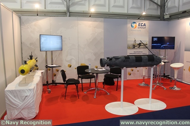 "At NAVDEX 2015, ECA Group of France showcased its Special Warfare Underwater Vehicle or ""SWUV"". The SWUV is the future swimmer delivery vehicle (SDV) of the French Navy commandos. This SDV was designed by ECA Group, in cooperation with the French procurement agency (DGA) and French Navy combat divers, for troop delivery and stealth coastline intervention missions."