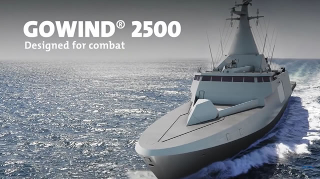 DCNS GOWIND LCS SGPV Malaysia TLDM