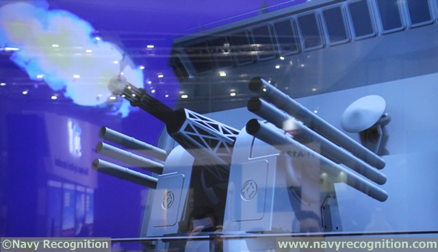 Type 730C Dual Gun and Missile CIWS 1