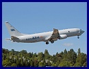 Boeing's first P-8I aircraft for the Indian Navy began its official flight test program July 7, taking off from Boeing Field in Seattle at 9:15 a.m. and landing three hours and 49 minutes later after demonstrating flying qualities and handling characteristics. The flight went as planned with all test objectives met.