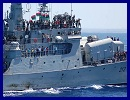 HMS Liverpool has escorted the Al Hani - flagship of the Free Libya Forces - into Tripoli harbour now the capital is no longer in the hands of Gaddafi's former regime.