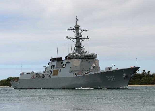 "The Republic of Korea (ROK or South Korea) Navy unveiled a new naval base on the southern resort island of Jeju. Jeju island is strategically located in a sea passage connecting the East China Sea and the Sea of Japan (East Sea) in the northwest Pacific Ocean. The 7,600-ton KDX-III Aegis Destroyer Yulgok Yi arrived on December 22 to the ""Jeju civil-military sea port base"" (the official designation of the base) which marked the opening of the complex."